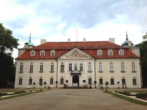 The Nieborów palace