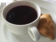 Barszcz czerwony: red beetroots soup