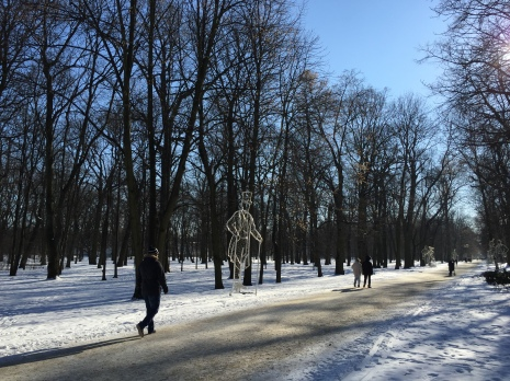 Winter in Warsaw