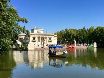 the Palace on the Isle, Łazienki Park