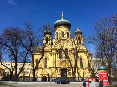 Warsaw: Cathedral of St. Mary Magdalene