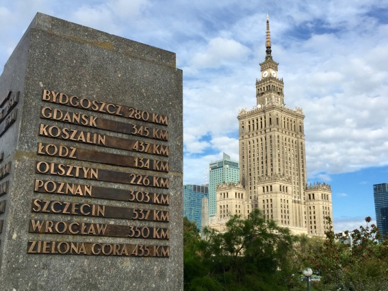 Warsaw: Palace of Culture