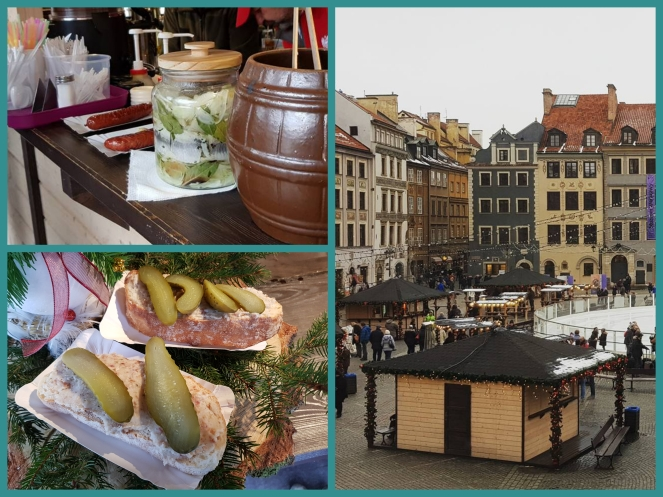 Xmas market and and the food