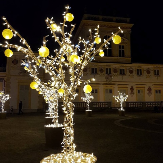 Royal Garden of Lights in Wilanow